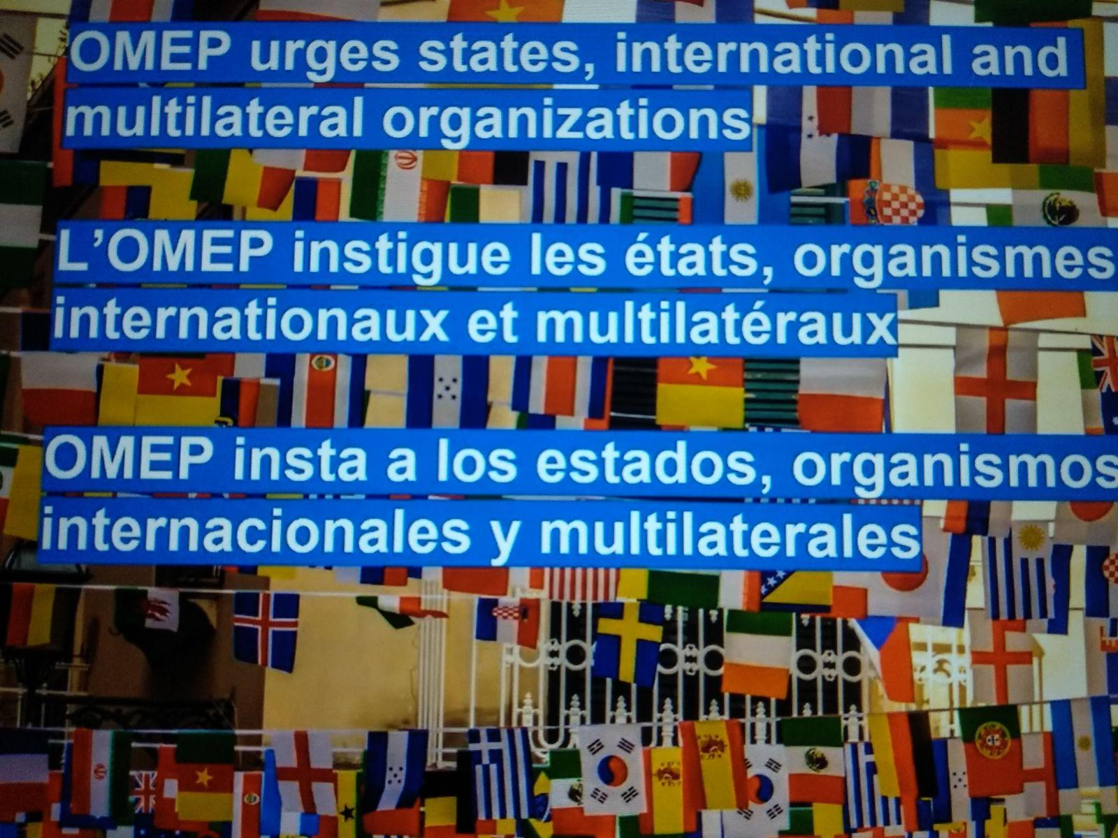 Sprawozdanie ze Światowego Zgromadzenia OMEP 2021